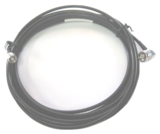 Zebra CBLRD-1B4003600R cable coaxial 9,14 m LMR240 Negro