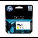 HP 963 Original Amarillo 1 pieza(s)