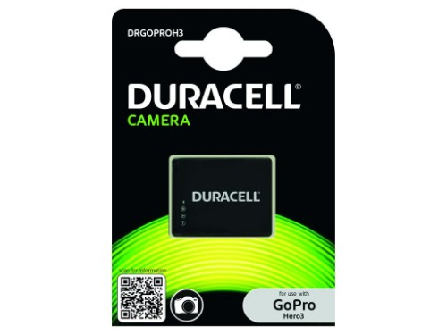 Duracell Camera Battery - replaces GoPro Hero3 Battery