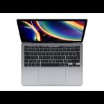 """Apple MacBook Pro Portátil 33,8 cm (13.3"""") Intel® Core™ i5 de 10ma Generación 16 GB LPDDR4x-SDRAM 1000 GB SSD Wi-Fi 5 (802.11ac) macOS Catalina Gris"""
