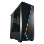 LC-Power Gaming 700B - Hexagon Midi-Tower Black