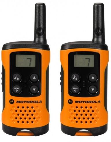Motorola TLKR-T41 two-way radio 8 channels 446 MHz