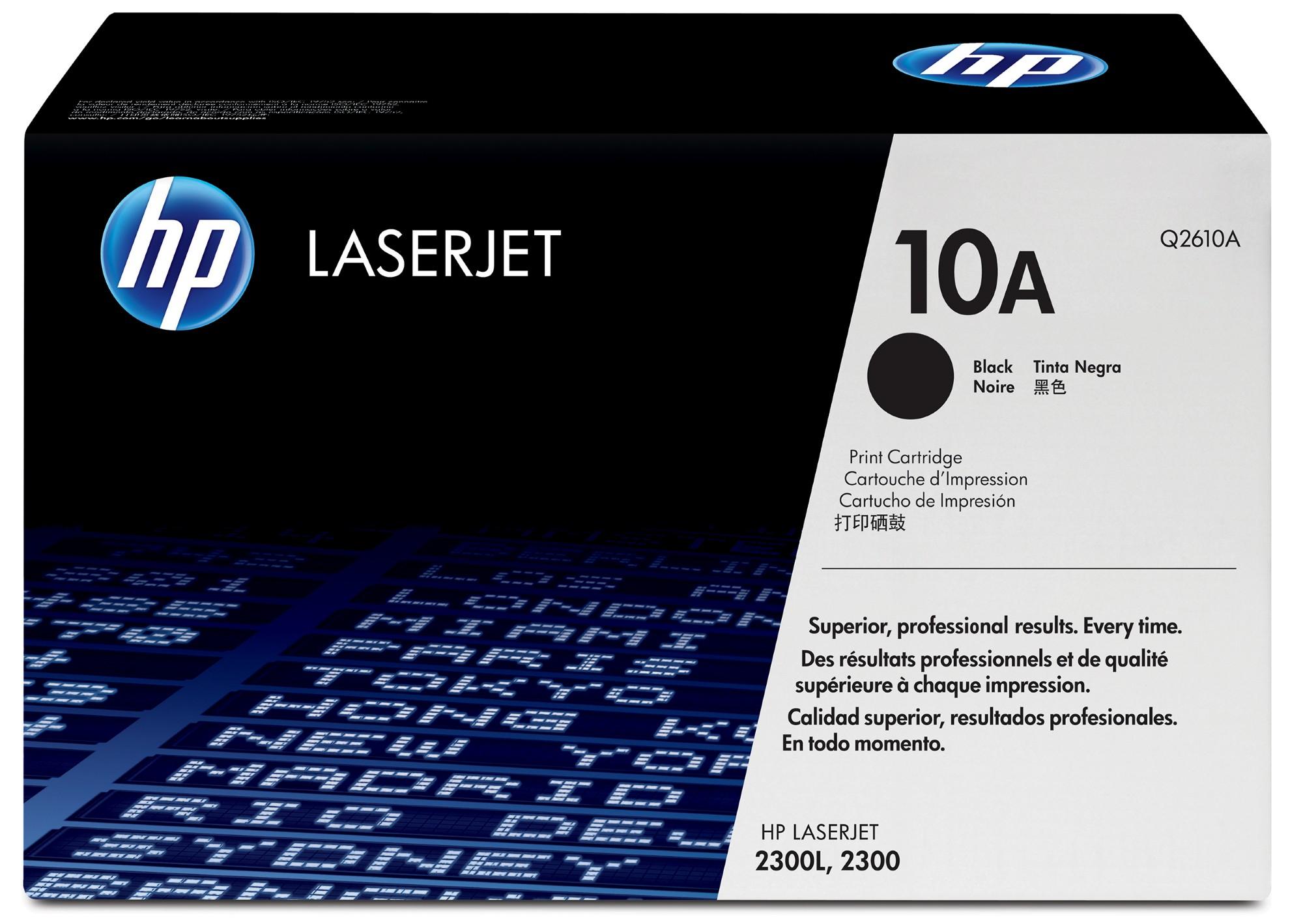 HP 10A Origineel Zwart 1 stuk(s)