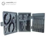 CONNEkT Gear 25 Piece Mini Tool Kit Set