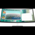 "HP E344c computer monitor 86.4 cm (34"") 3440 x 1440 pixels WQHD Curved Silver"