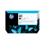 HP C4871A (80) Ink cartridge black, 4.4K pages, 350ml