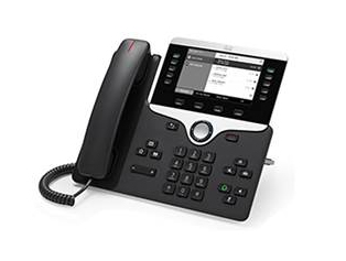 Cisco 8811 Wired handset LCD Black IP phone