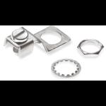 Spaun EDKL 2 Set cable clamp Silver 5 pc(s)