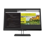 "HP Z24nf G2 23.8"" 1920 x 1080 pixels Full HD LED Flat Matt Black"