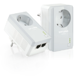 TP-LINK TL-PA4020PKIT Ethernet LAN White 2pc(s) PowerLine network adapter