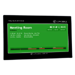 Concierge Displays ACMG22 customer display Black