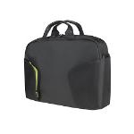 "Toshiba CoRace 16"" Messenger case Black,Green"