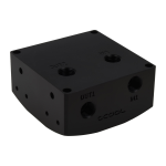 Alphacool 13188 hardware cooling accessory Black
