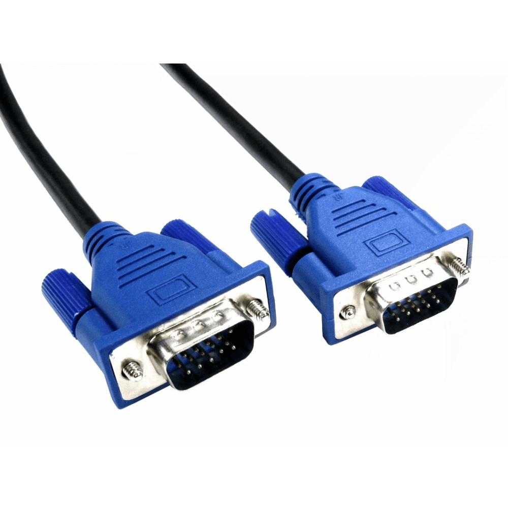 Cables Direct CDEX-LPLZ-05BL VGA cable 5 m VGA (D-Sub) Black,Blue