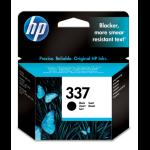HP 337 Original Zwart 1 stuk(s)