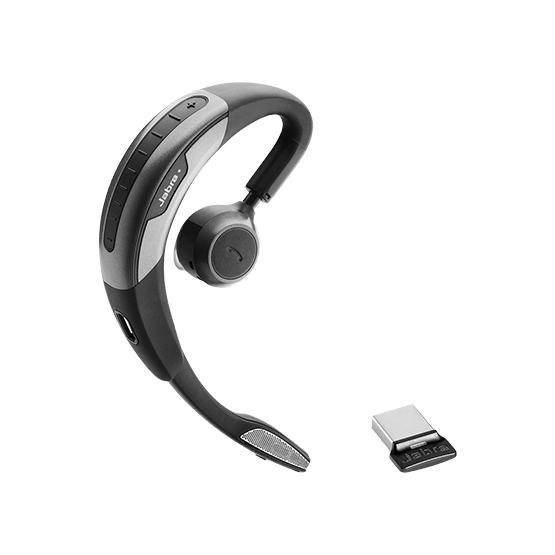 Jabra Motion UC Headset oorhaak Zwart, Zilver