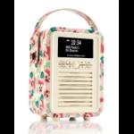 ViewQwest Retro Mini radio Portable Digital Multicolor