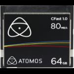 Atomos C-Fast 64GB CompactFlash memory card