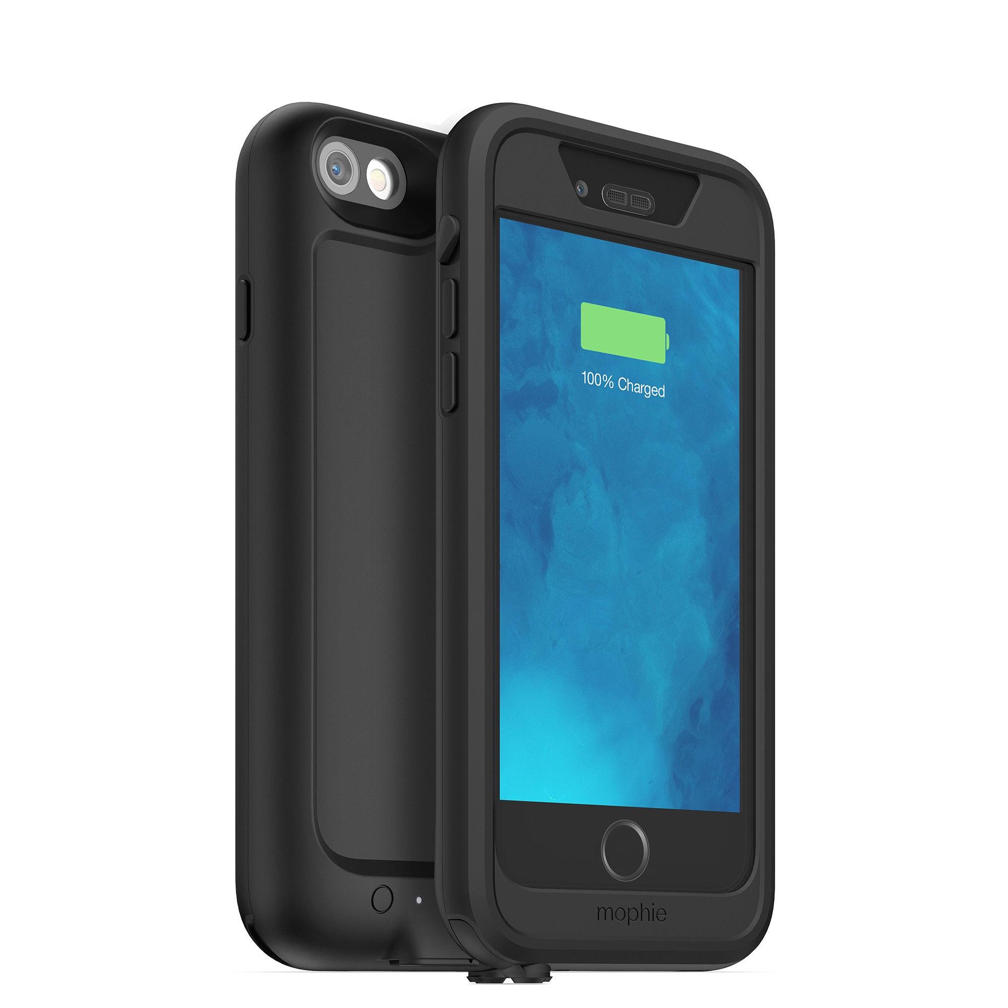 """Mophie juice pack H2PRO mobiele telefoon behuizingen 11,9 cm (4.7"""") Hoes Zwart"""