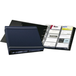 Durable VISIFIX® A4 business card file