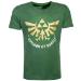 Nintendo Legend of Zelda Golden Kingdom of Hyrule T-Shirt, Male, Extra Large, Green (TS167041ZEL-XL)