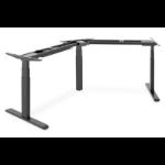 Digitus DA-90392 standing desk frame Electric 3 leg(s) Black
