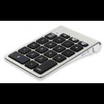 LMP NexGen numeric keypad Bluetooth Notebook Aluminium, Schwarz