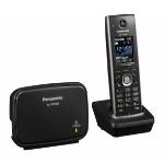 Panasonic KX-TGP600 IP phone Black Wireless handset LCD