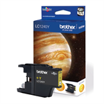 Brother LC-1240Y Ink cartridge yellow, 600 pages LC1240Y