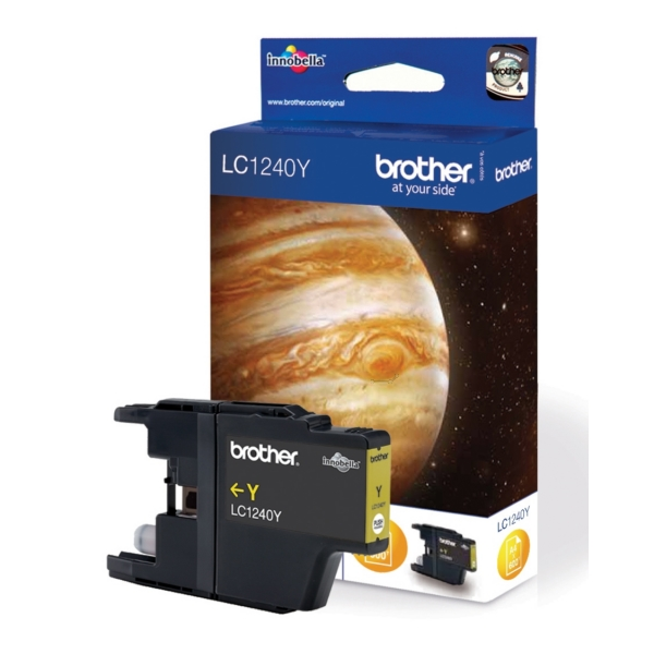 Brother LC-1240Y Ink cartridge yellow, 600 pages