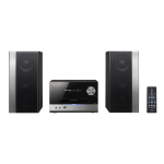 Pioneer X-PM32 home audio set Home audio micro system Black 75 W