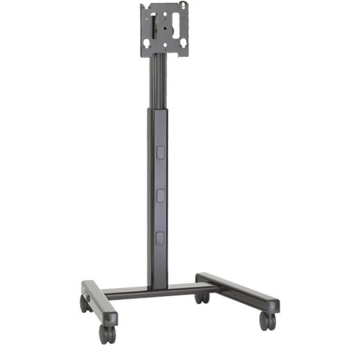 "Chief MFCUB flat panel floorstand 165.1 cm (65"") Portable flat panel floor stand Black"
