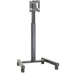 "Chief MFCUB flat panel floorstand 165.1 cm (65"") Portable flat panel floor stand Black"