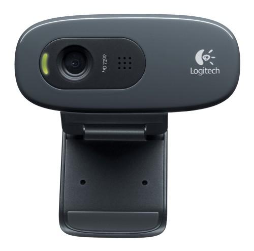 Logitech C270 webcam 3 MP 1280 x 720 pixels USB 2.0 Black