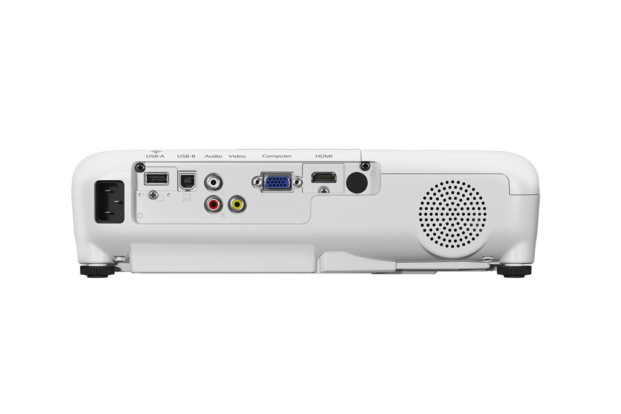 Epson EB-S41 data projector 3300 ANSI lumens 3LCD SVGA (800x600) Desktop projector White
