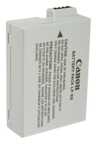 Canon LP-E8 Lithium-Ion (Li-Ion)