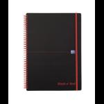 Black n' Red Black n Red A4 Wirebound Polypropylene Covered Notebook PK5