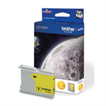 Brother LC-1000Y Ink cartridge yellow, 400 pages @ 5% coverage, 7ml
