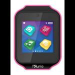 "Kurio Watch 1.54"" LCD Black, Pink smartwatch"