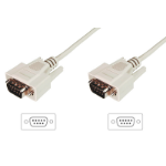 Digitus AK-610107-020-E serial cable Beige 2 m DSUB, 9-pin