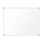 Nobo Prestige Enamel Magnetic Whiteboard 1800x1200mm with Aluminium Trim