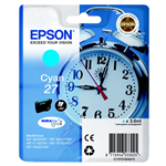 Epson C13T27024010 (27) Ink cartridge cyan, 300 pages, 4ml