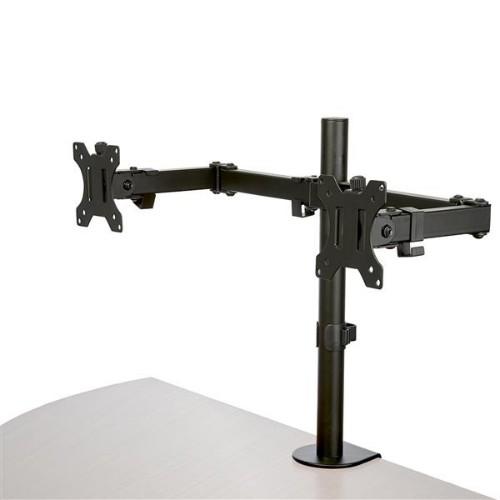 StarTech.com Desk Mount Dual Monitor Arm - Crossbar - Articulating - Steel