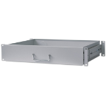 "Intellinet 19"" Drawer Shelf, 2U, Shelf Depth 350mm, Grey 714921"