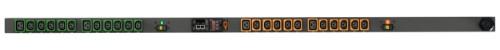 Vertiv Geist rPDU, switched, 0U, input IEC60309 230V 32A, outputs (20)C13 | (4)C19 power distribution unit (PDU) Black 24 AC outlet(s)