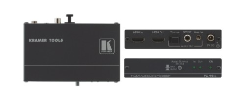 Kramer Electronics FC-46XL Black audio converter