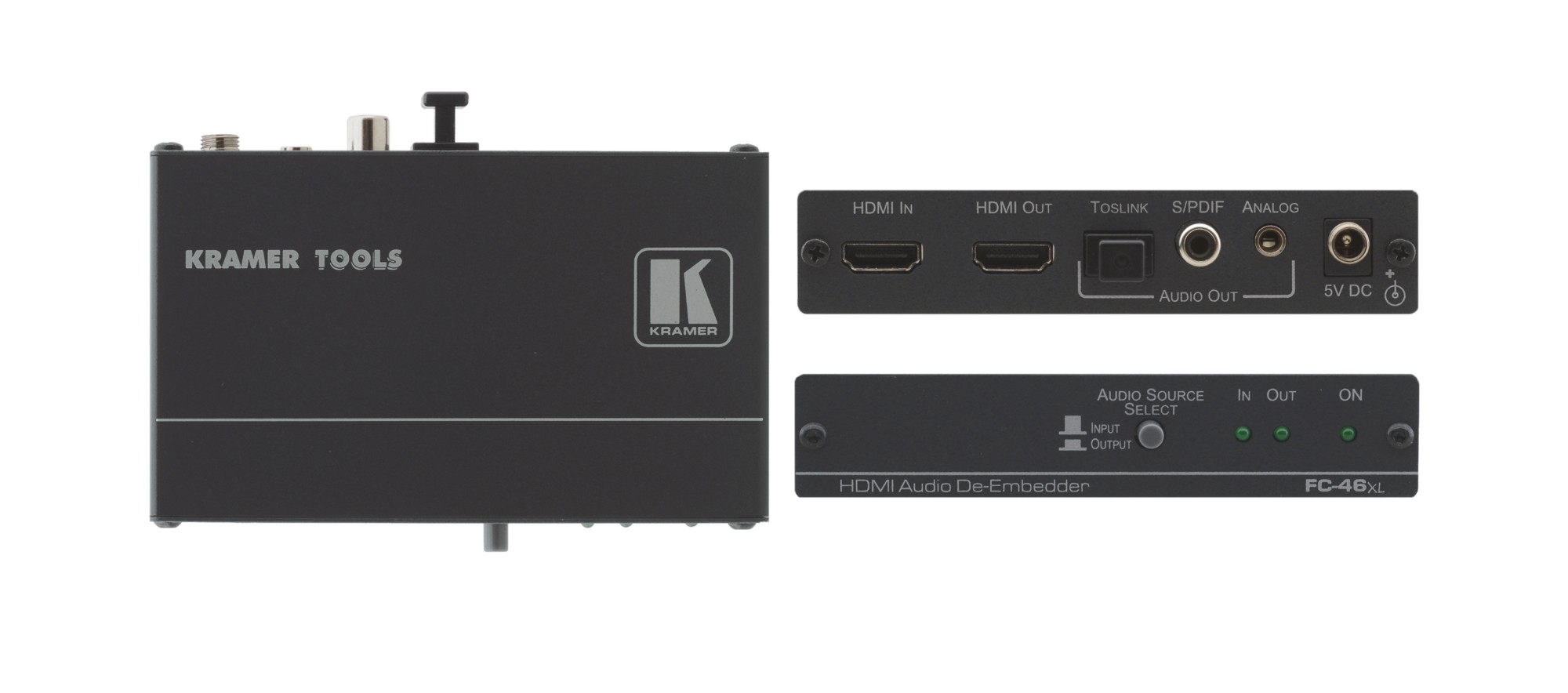 Kramer Electronics FC-46XL audio converter Black