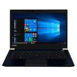 "Toshiba Portégé X30-E-133 Blue Notebook 33.8 cm (13.3"") 1920 x 1080 pixels 8th gen Intel® Core™ i7 i7-8550U 8 GB DDR4-SDRAM 256 GB SSD 4G"