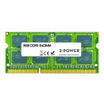 2-Power 8GB DDR3 1333MHz SoDIMM Memory