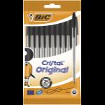 BIC 830864 ballpoint pen Black Stick ballpoint pen Medium 10 pc(s)